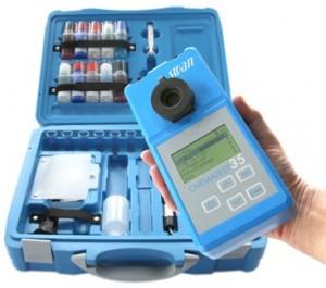 Chematest 35 / Przenośny kolorymetr do pomiarów środków dezynfekujących, pH i Redoks