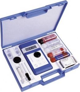 Chematest 20S / Przenośny analizator stężenia dezynfektantów, rozpuszczonego żelaza, aluminium i pH