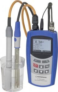 G 7500 Przenośny i laboratoryjny miernik wieloparametrowy pH, tlen i przewodność GHM Greisinger