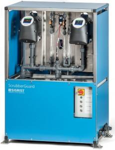 ScrubberGuard / Monitoring jakości wody myjącej w płuczkach i Scrubberach
